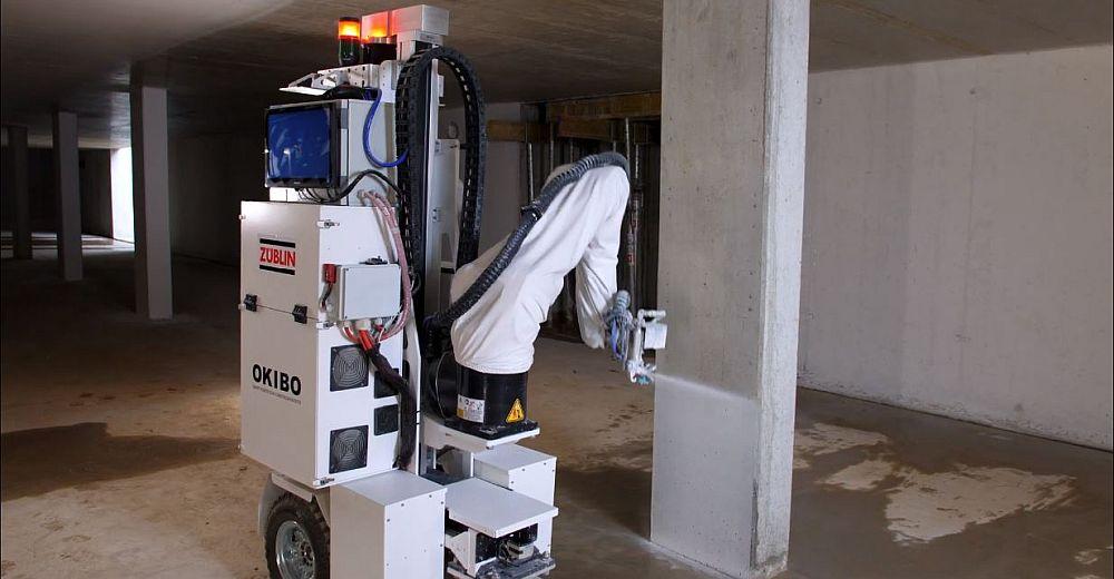 Autonomer Malerroboter im Praxistest