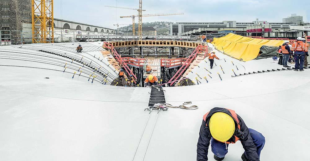 Stuttgart 21 - die hohe Kunst des Betonbaus